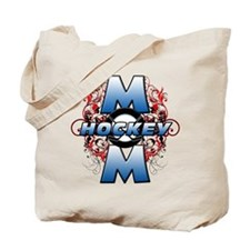 Hockey Mom (cross).png Tote Bag