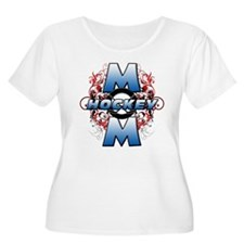 Hockey Mom (cross).png T-Shirt