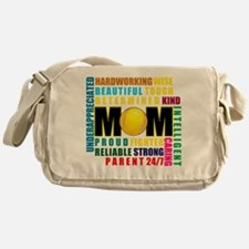 What is a Tennis Mom.png Messenger Bag