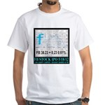 FB Stock IPO Happy Camper Poster White T-Shirt