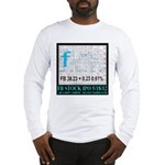FB Stock IPO Happy Camper Poster Long Sleeve T-Shi