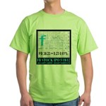 FB Stock IPO Happy Camper Poster Green T-Shirt