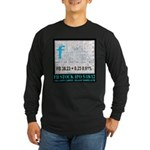 FB Stock IPO Happy Camper Poster Long Sleeve Dark