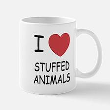 I heart stuffed animals Mug