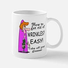 Over-the-Hill wrinkles Mug