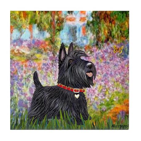 Garden (Monet) - Scotty Tile Coaster