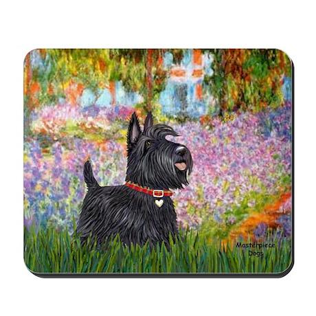 Garden (Monet) - Scotty Mousepad