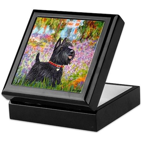 Garden (Monet) - Scotty Keepsake Box