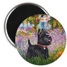 Garden (Monet) - Scotty Magnet