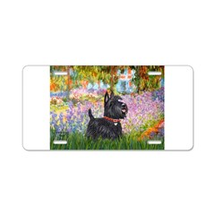 Garden (Monet) - Scotty Aluminum License Plate