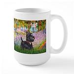 Garden (Monet) - Scotty Large Mug