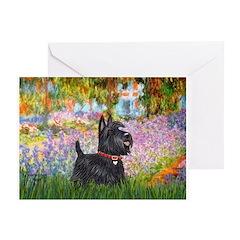 Garden (Monet) - Scotty Greeting Card
