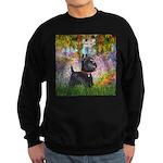Garden (Monet) - Scotty Sweatshirt (dark)
