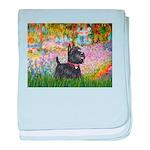 Garden (Monet) - Scotty baby blanket