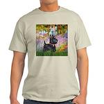 Garden (Monet) - Scotty Light T-Shirt