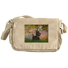 Garden (Monet) - Scotty Messenger Bag
