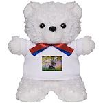 Garden (Monet) - Scotty Teddy Bear