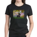 Garden (Monet) - Scotty Women's Dark T-Shirt