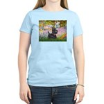 Garden (Monet) - Scotty Women's Light T-Shirt