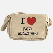 I heart fairy godmothers Messenger Bag
