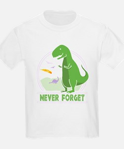 Never Forget Dinosaur T-Shirt