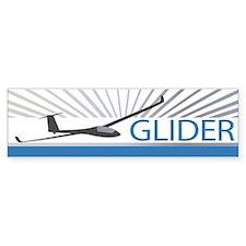 Aircraft Glider Bumper Sticker