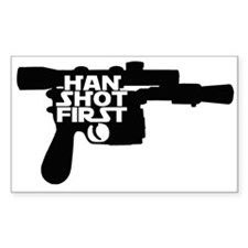 Han Shot First Decal
