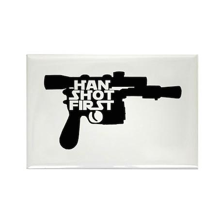 Han Shot First Rectangle Magnet (10 pack)