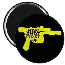 Han Shot First Magnet