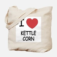 I heart kettle corn Tote Bag