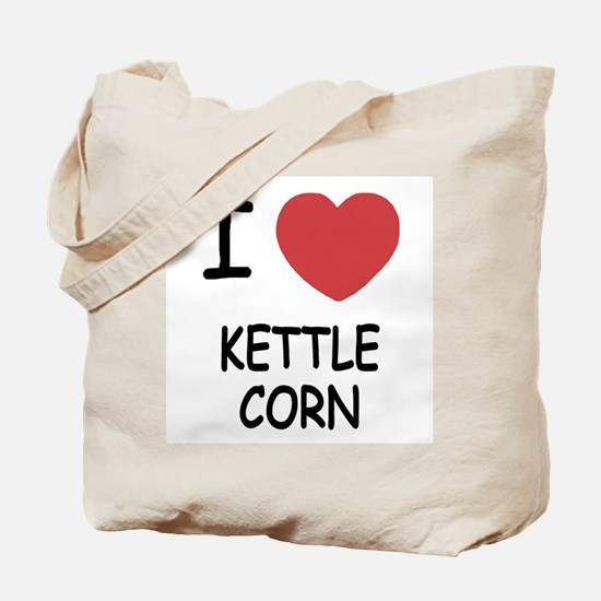 I heart kettle corn Tote Bag