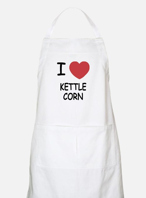 I heart kettle corn Apron