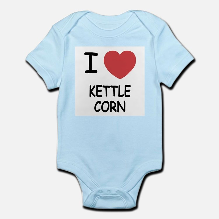 I heart kettle corn Infant Bodysuit