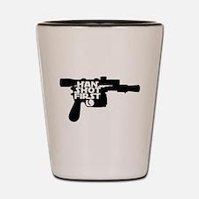 Han Shot First Gun Shot Glass