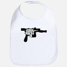 Han Shot First Bib