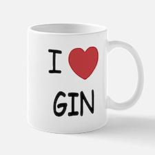 I heart gin Mug