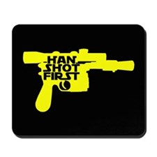 Han Shot First Mousepad