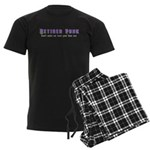 Retired Punk Men's Dark Pajamas