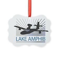 Aircraft Lake Amphibian Ornament