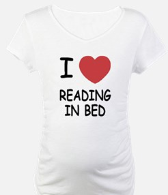 I heart reading in bed Shirt