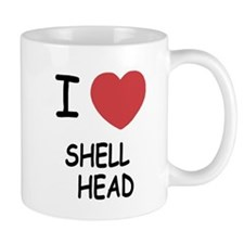 I heart shell head Mug