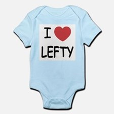 I heart lefty Infant Bodysuit