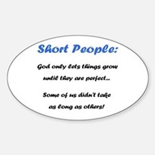 Short People Decal