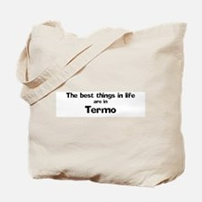 Termo: Best Things Tote Bag