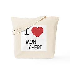 I heart mon cheri Tote Bag