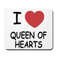 I heart queen of hearts Mousepad