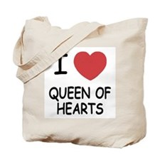 I heart queen of hearts Tote Bag