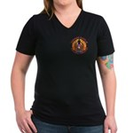 Spirit of Supersedure Women's V-Neck Dark T-Shirt