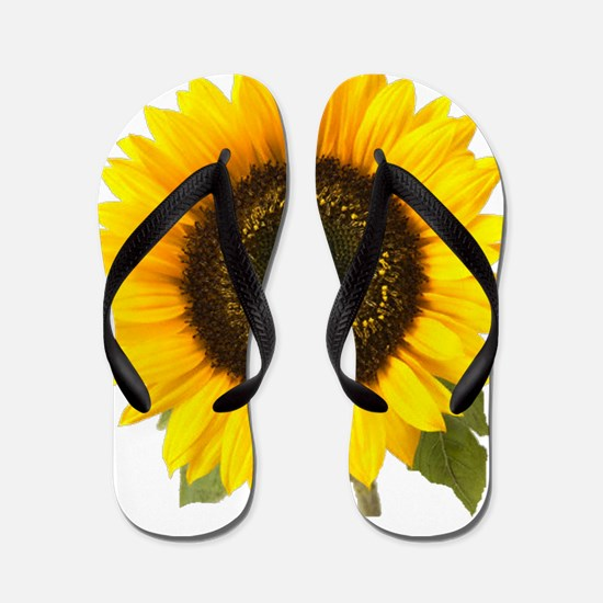 Sunflower Flip Flops