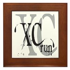 Cross Country XC Framed Tile